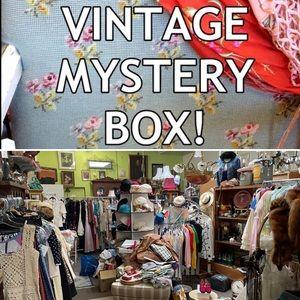 5lb Surprise Vintage GLAMOUR Box - Bday?!